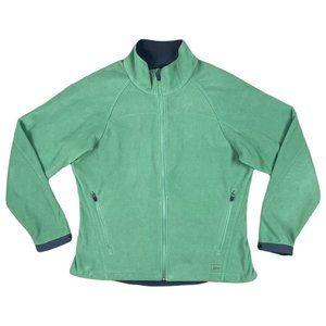 REI Green Fleece Full Zip Jacket